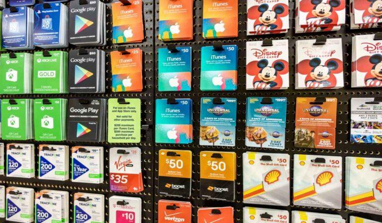 Venda tarjetas de regalo en línea: gane dinero por tarjetas de regalo no deseadas