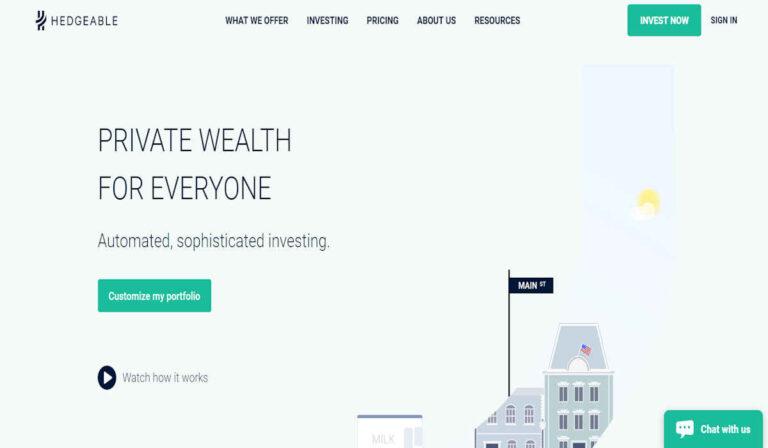 Hedgeable: lo que necesita saber sobre la plataforma de inversión
