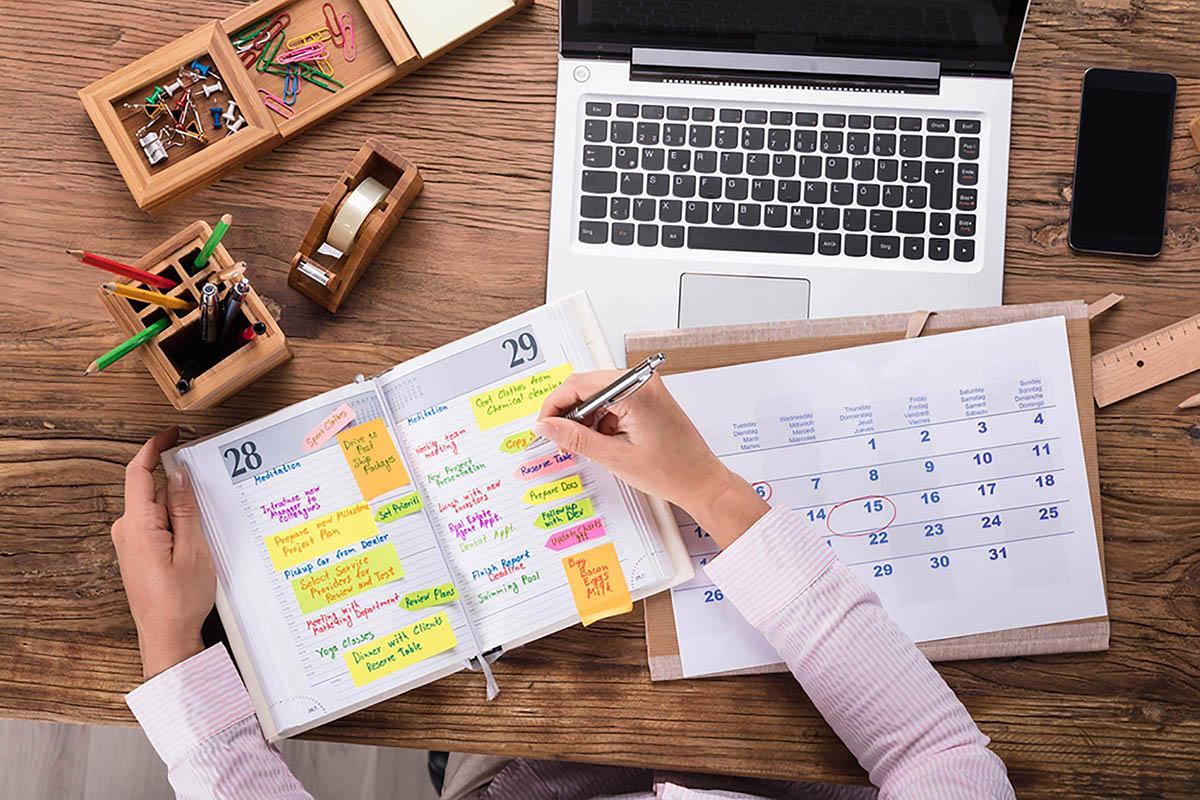 Competencia organizativa: poner orden en la agenda.