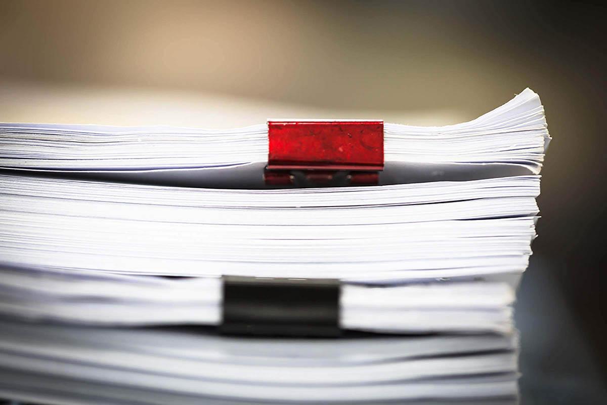 Habilidad organizativa: no permita que las pequeñas tareas se acumulen.