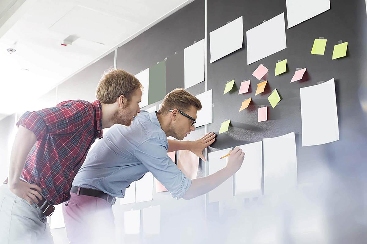 Competencia organizativa: cuidado con las notas adhesivas.