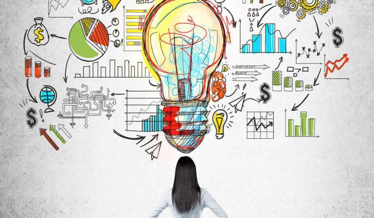 La logística de organizar las ideas para un emprendimiento