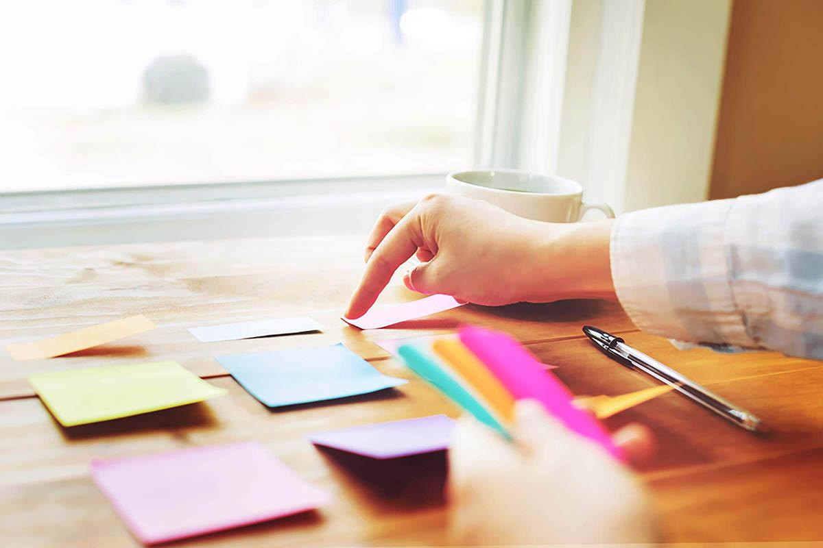Competencia organizativa: conserve solo lo que necesita.