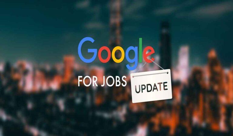Google for Jobs: utilice esta herramienta de motor de búsqueda para encontrar su próxima carrera