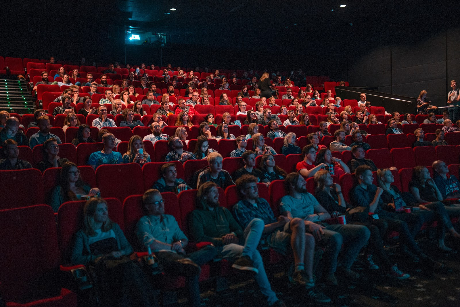 audiencia de cine