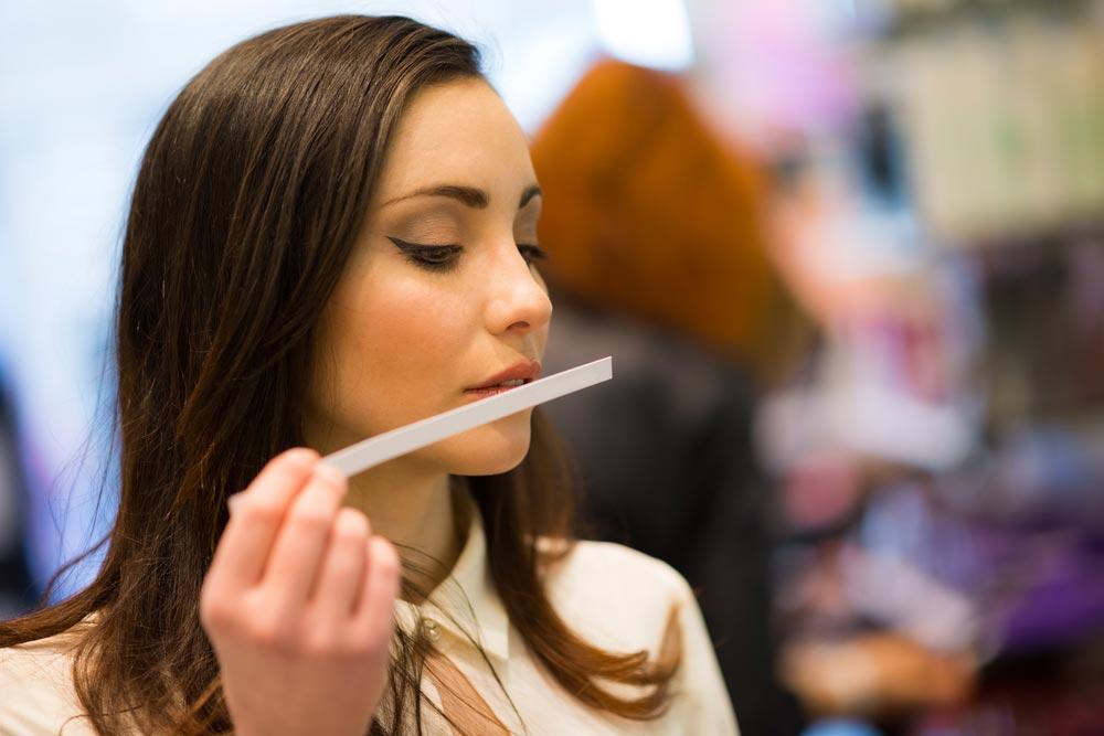 Trabajos inusuales: probador de olores