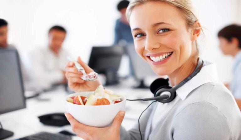 12 cosas saludables para hacer en el trabajo