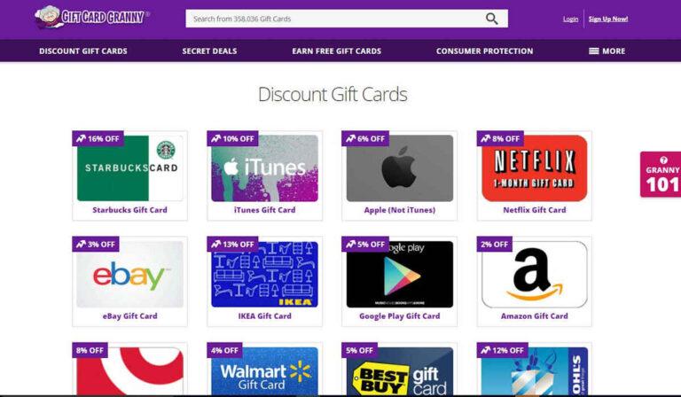 Cómo utilizar Gift Card Granny para ganar dinero extra