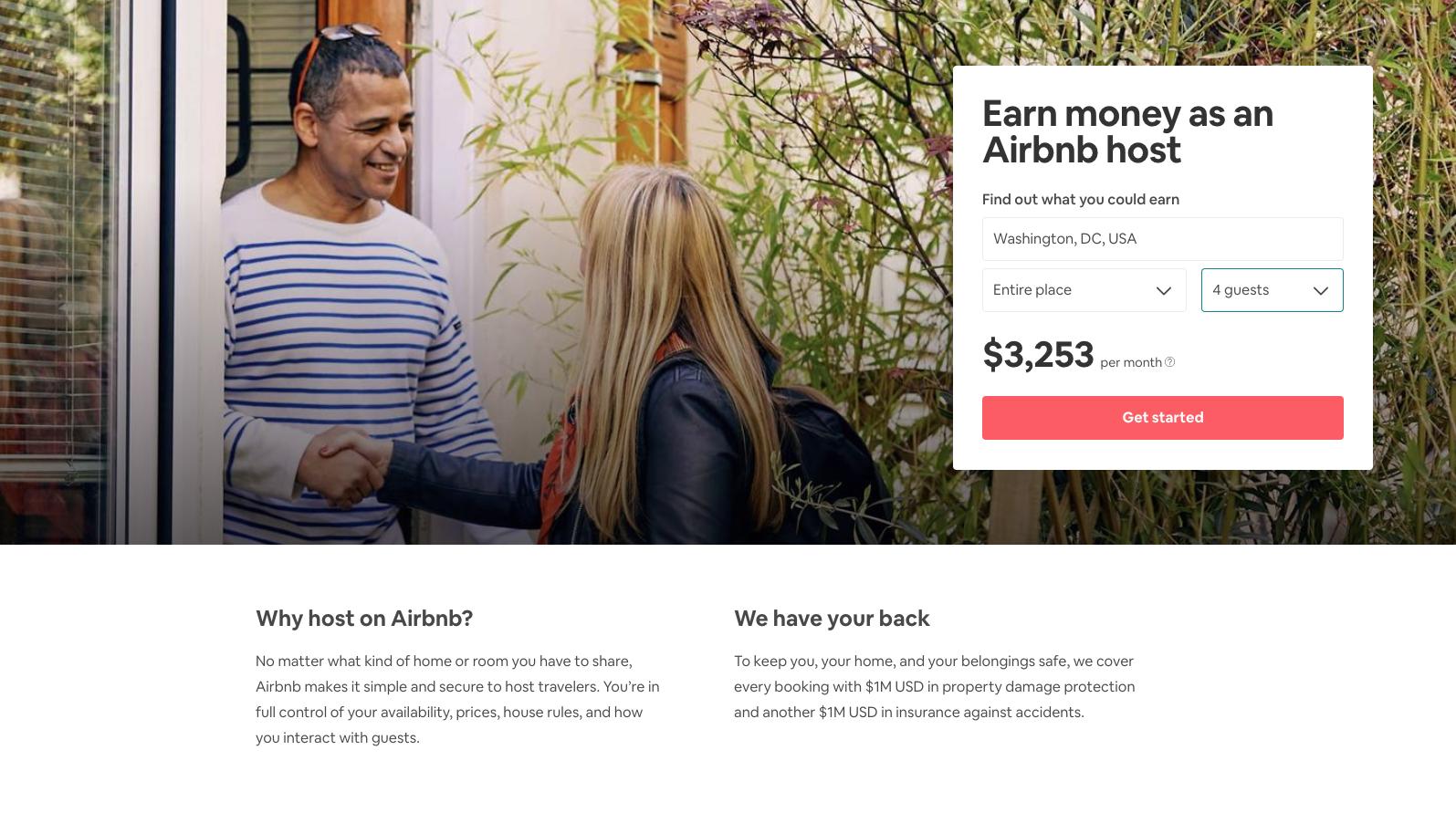Cómo ser un anfitrión de Airbnb: página web de Airbnb para anfitriones