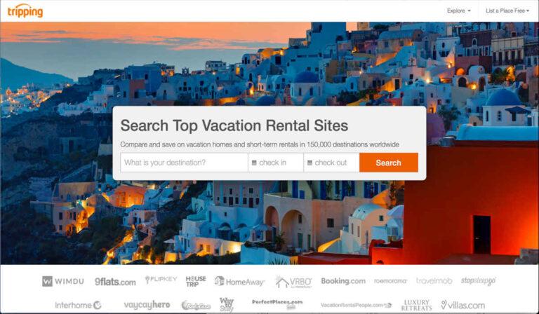Cómo reservar y publicar una casa de alquiler en Tripping.com