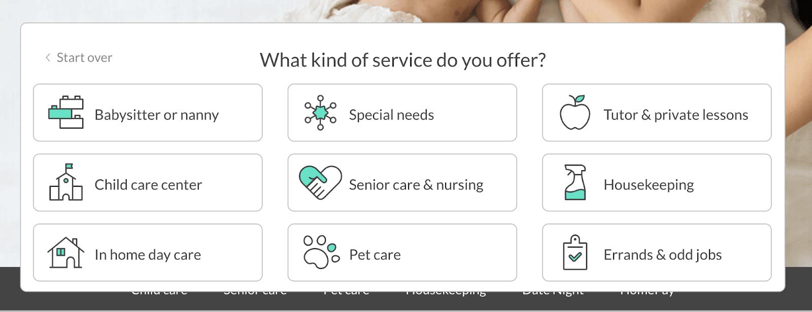 Requisitos de Care.com: lo que necesita para convertirse en un cuidador - Paso 2