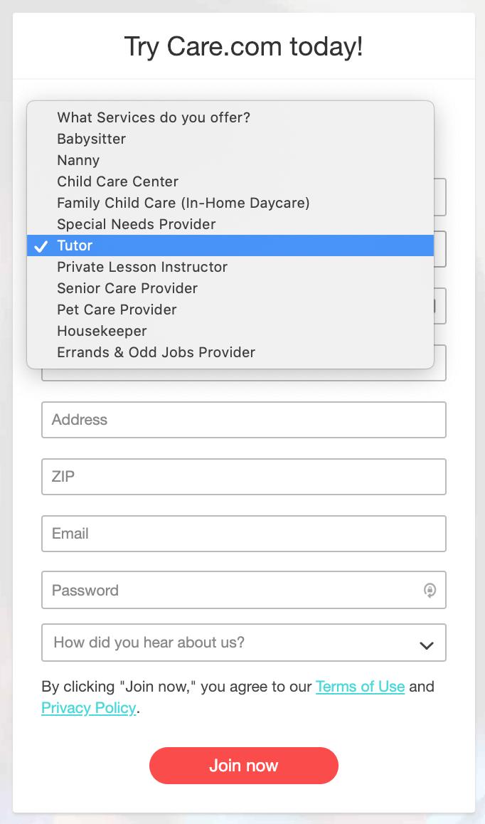 Cómo encontrar su primer trabajo en Care.com