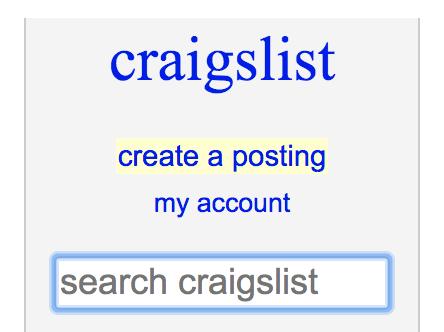 Cómo publicar en Craigslist: crear una publicación