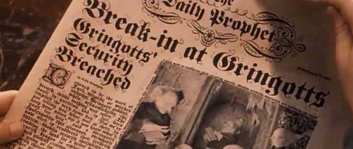 Periódico Harry Potter Daily Prophet