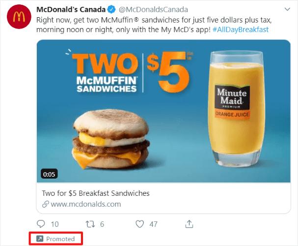 crear anuncios de twitter