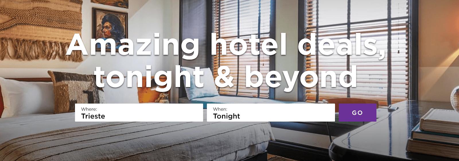 Tarifas de hotel Tonight: su guía para reservar hoteles de última hora