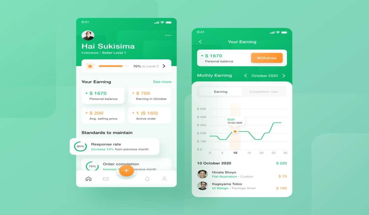 Fiverr - aplicaciones para ganar dinero