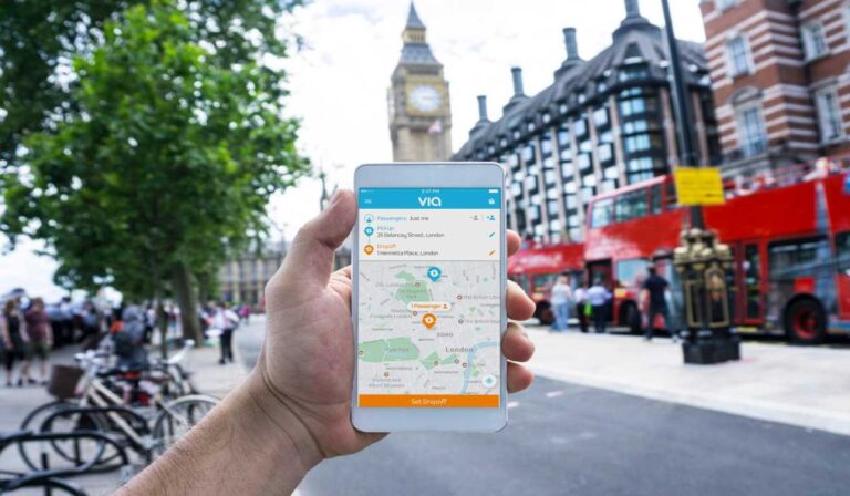 Via app: su guía paso a paso para esta plataforma de ridesharing