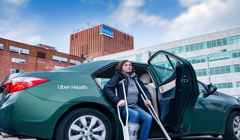 Uber Health: Llevar a los pacientes a sus citas a tiempo