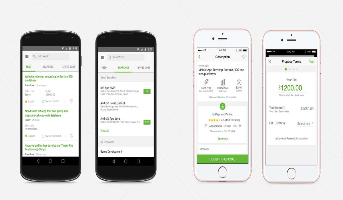 Upwork - aplicaciones para ganar dinero